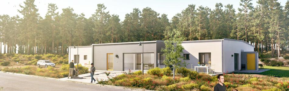 Energieffektiva och miljövänliga passivhus