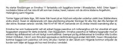 Pressrelease_Emrahus_saljstart_blossalyckan