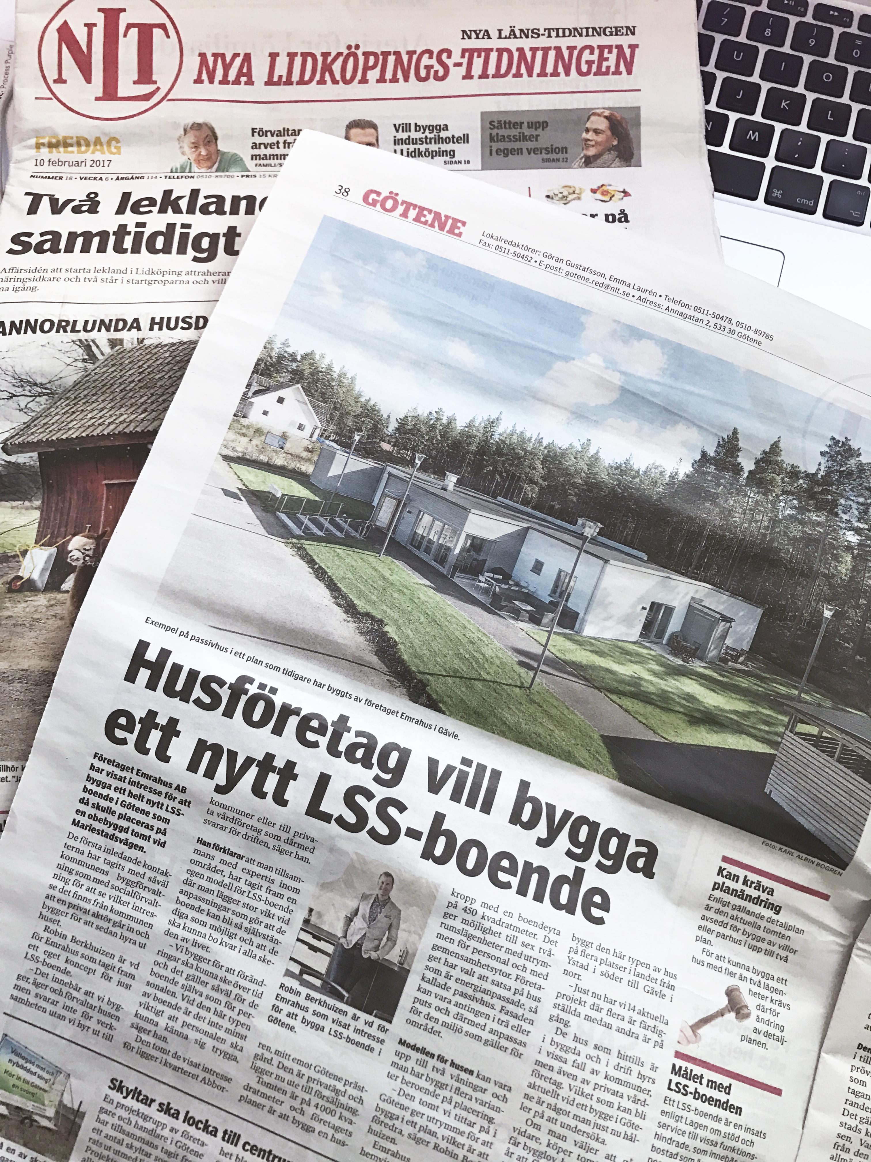 Nya Lidköpings-Tidningen Götene