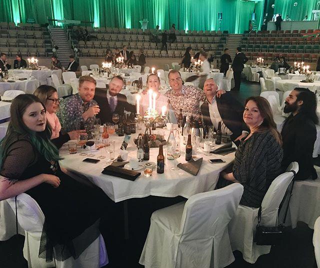 Vi säger hejhej och trevlig helg från Landskronagalan! Grattis till Ekologgruppen som vann i vår kategori, årets företag inom miljö och hållbar utveckling!