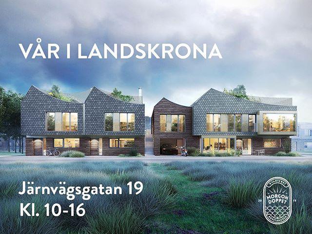 Imorgon kommer våren till Landskrona och det är massor av aktiviteter i stan! Bland annat är det en utställning med stadsbyggnadsprojekt, och där kommer vi stå med vårt projekt i Borstahusen! Ni kommer få en första tjuvtitt på dessa spännande hus.Kom förbi på Järnvägsgatan 19 mellan 10-16 så berättar vi mer!